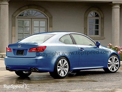 Lexus IS Coupe Rear