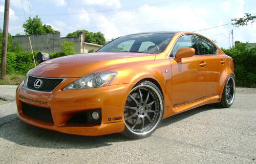Fox/Artisan Lexus IS-F
