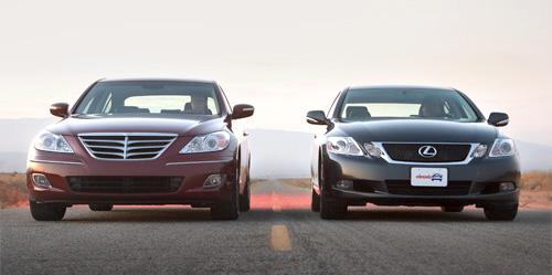 Lexus GS 350 vs. Hyundai Genesis