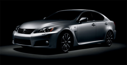 Though not as extensive as the Lexus IS, the 2009 IS-F will also be getting