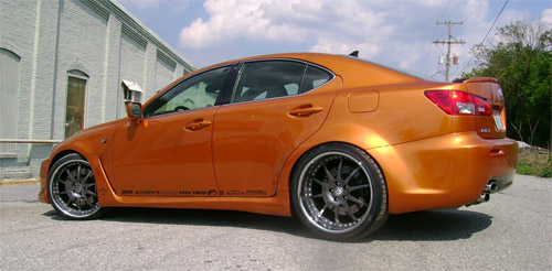 Artisan/Fox Marketing Lexus IS-F