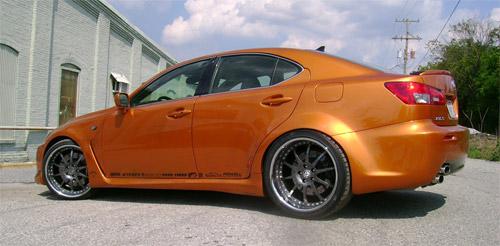 Artisan/Fox Marketing Lexus IS-F