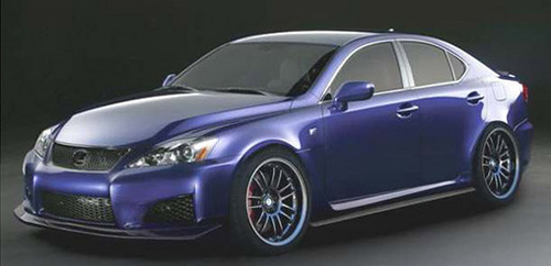 Import Tuner Magazine Lexus IS-F