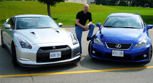 Lexus IS-F vs. Nissan GT-R
