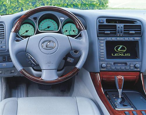 2000 Lexus GS Interior