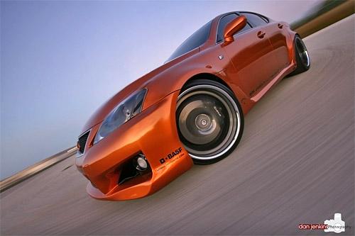 Lexus IS-F Fox Marketing Artisan Performance