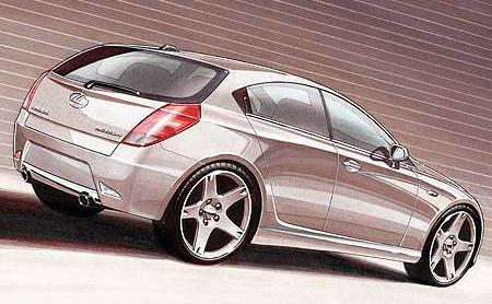 Lexus BS Compact Car