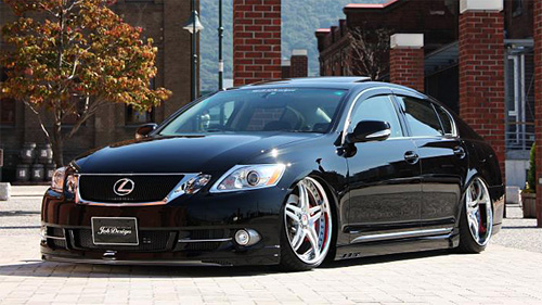 Lexus GS Body Kit by Job Design