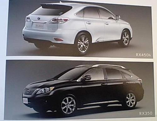 2010 Lexus RX Brochure
