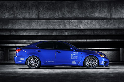 SEMA 2008:Import Tuner's Lexus IS-F
