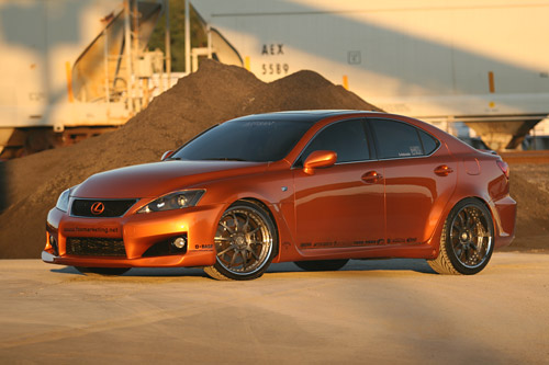 SEMA 2008: Fox Marketing's Lexus IS-F