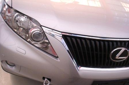 2010 Lexus RX Spy Shot 2