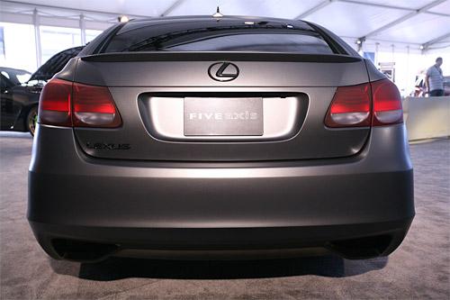 Five Axis Lexus Project GS Rear