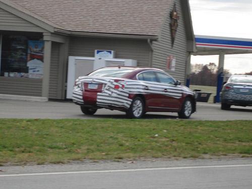 Spy Shots of the Lexus HS 250h