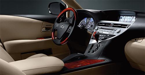 2010 Lexus RX Interior