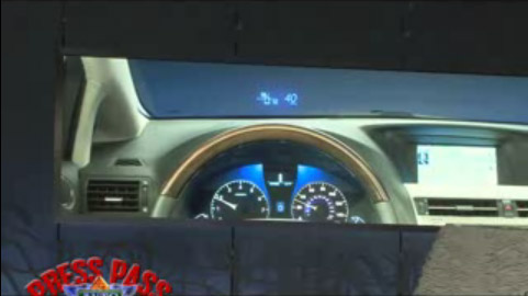 Lexus RX Heads-Up Display