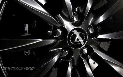 Lexus IS-F Wheel Wallpaper
