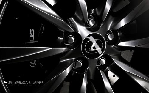 Lexus IS-F Wheel Wallpaper