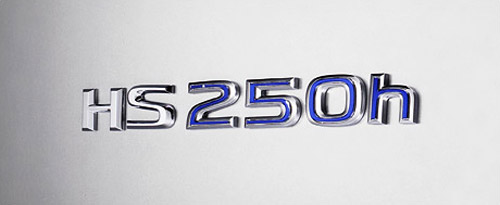 Lexus HS 250h Badge