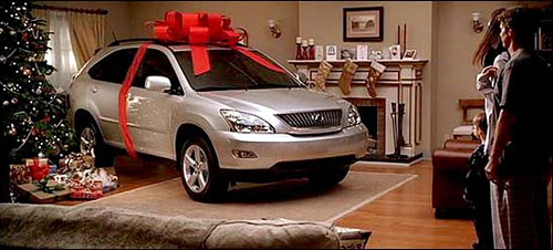 Lexus RX Christmas