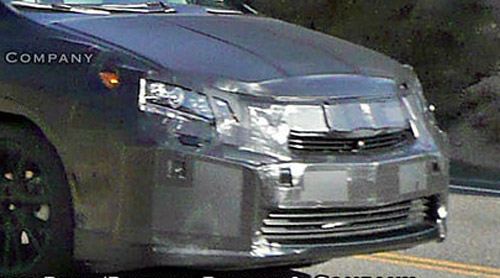 Lexus HS 250h Headlights