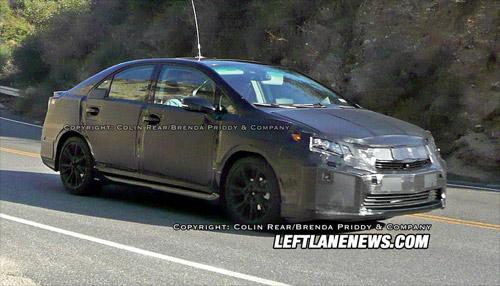 Spied Lexus HS 250h