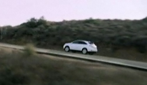 Lexus RX from afar