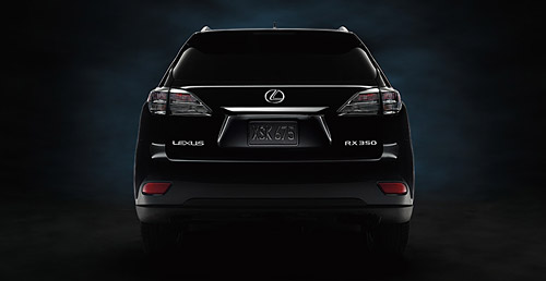 2010 Lexus RX Colors