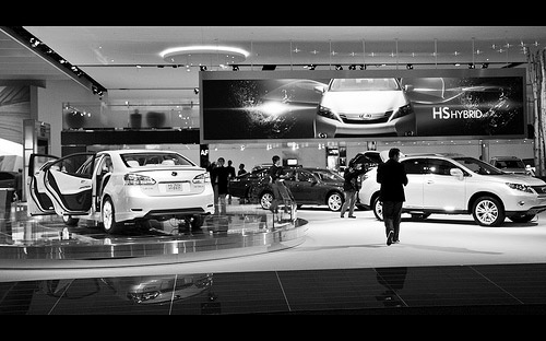 Lexus Detroit Display