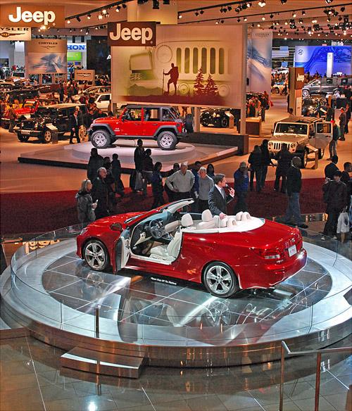 Lexus Detroit Display 2
