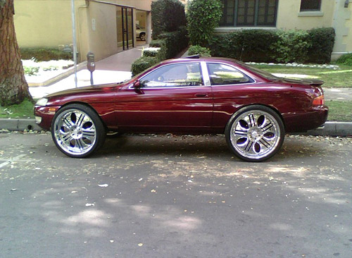 Lexus SC on 26in Wheels