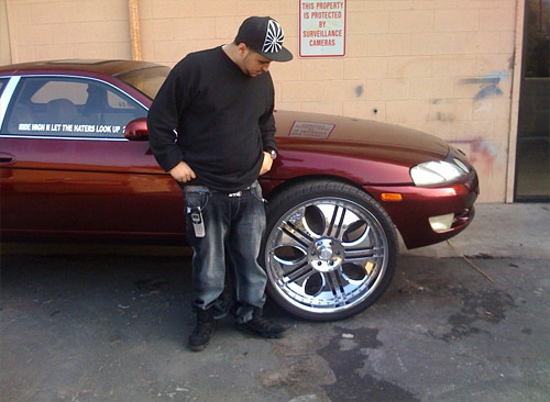 Lexus SC on 26 in Wheels
