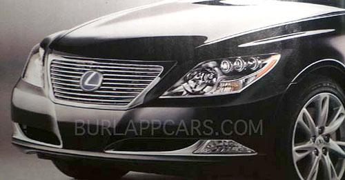 2010 Lexus LS Facelift