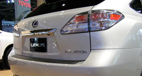 2010 Lexus RX Rear Lights