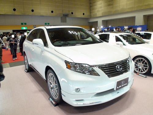 2010 Lexus RX in a LX-Mode Body Kit