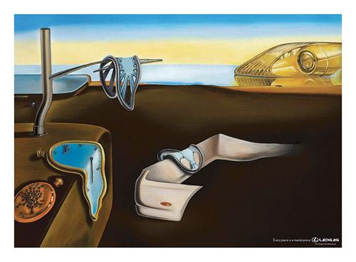 Lexus Salvador Dali Painting