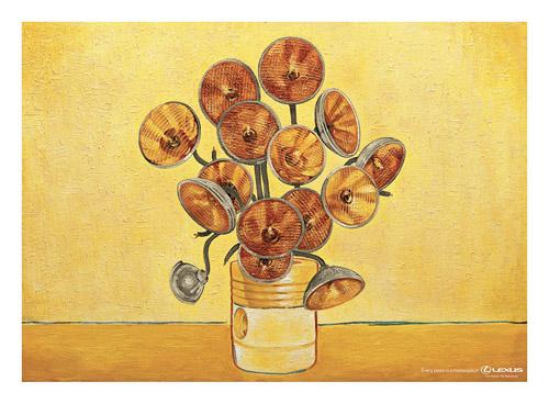 Lexus Van Gogh Painting
