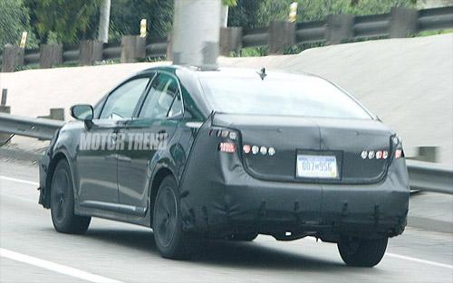 Lexus HS 250h Disguised
