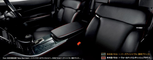 Lexus GS Meteor Black Interior 3