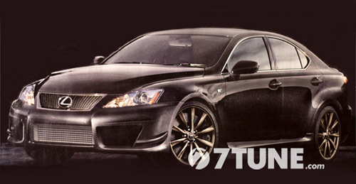 Lexus IS-F Evolution