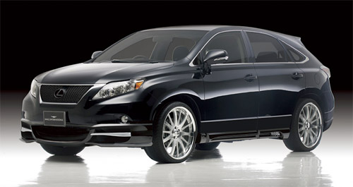 2010 Lexus RX with Wald Body Kit