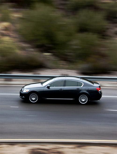 Lexus GS Panning Practice