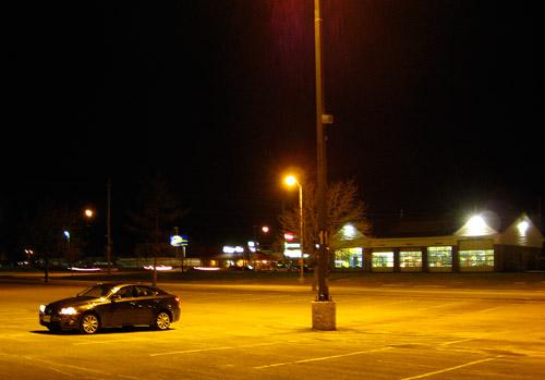 2009 Lexus IS 250 AWD at Night