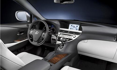 2010 Lexus RX450h Interior