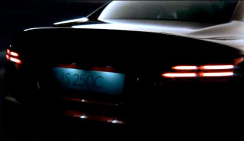 Lexus IS250 Tail Lights