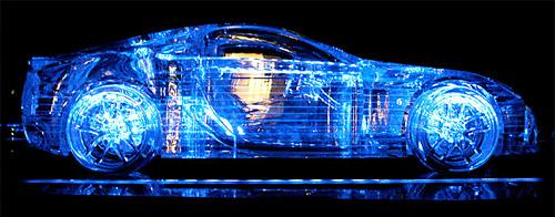 Crystalized Lexus LFA
