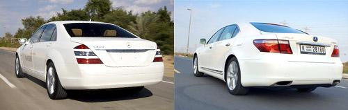 Lexus LS600hL vs. Mercedes S400 Hybrid