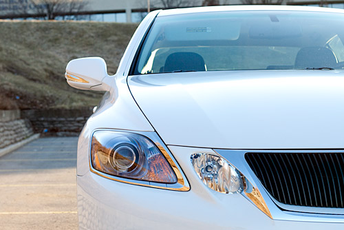 2009 Lexus GS450h Headlight