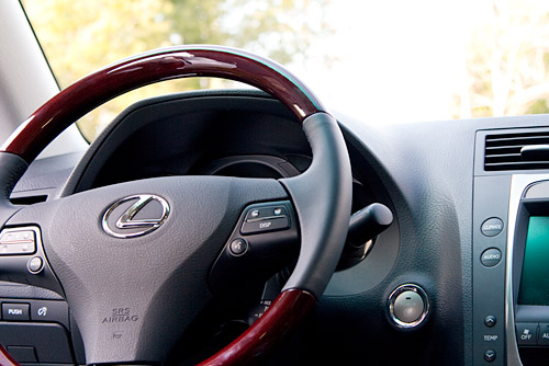 2009 Lexus GS450h Steering Wheel