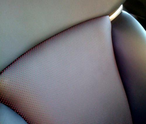 Lexus GS Passionate Black Seats